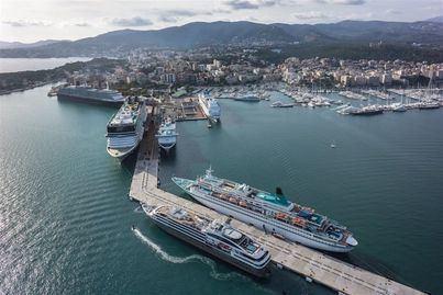 Baleares recibe casi 200.000 cruceristas en tres meses
