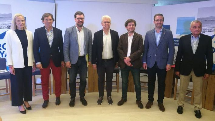 Los candidatos a alcalde se comprometen a invertir en Playa de Palma