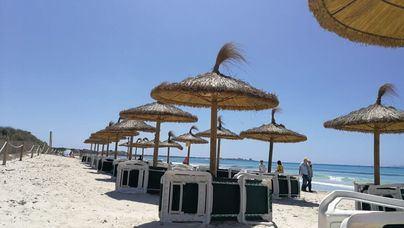 Jueves con temperaturas veraniegas en Mallorca