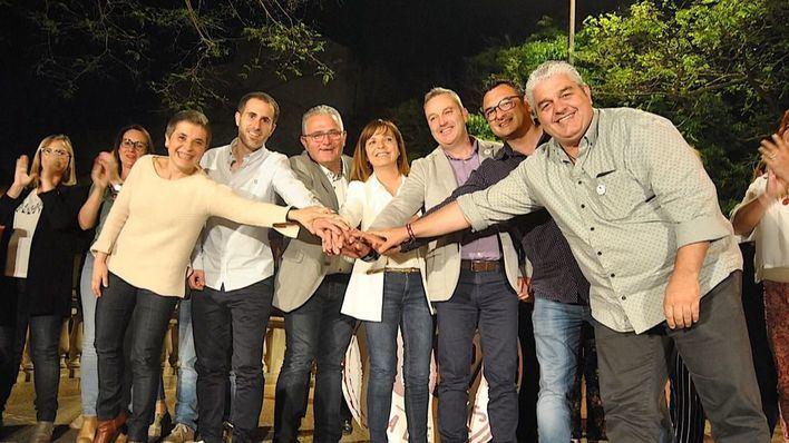 Más de 300 personas acompañan a Cati Riera en el inicio de campaña de El Pi de Manacor