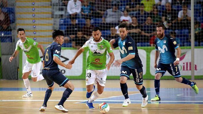 Paso de gigante del Palma Futsal para hacerse con el título