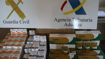 Detenido tras recoger un paquete con más de 4.500 dosis de medicamentos para la impotencia