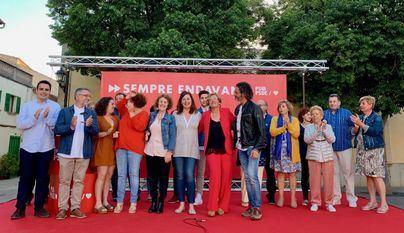 Los socialistas presentan a Bàrbara Rebassa como candidata en Alcúdia