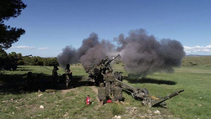 Unidades de la Comandancia de Baleares completan su preparación en acción militar