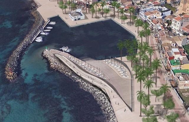 Al Molinar, port petit exige acabar las obras