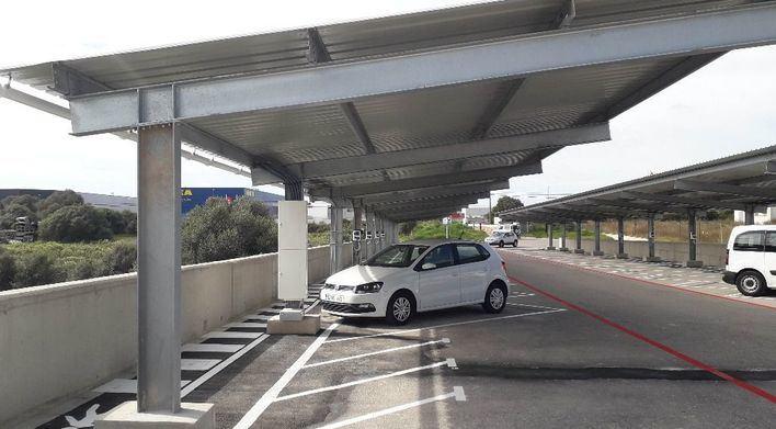 Endesa instala una planta fotovoltaica en Mahón