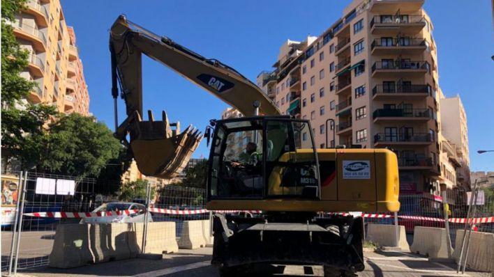 Arrancan las obras en Avenidas del nuevo colector de aguas residuales
