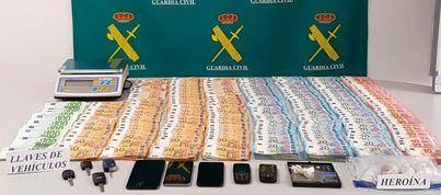 Cae una red de tráfico y distribución de heroína en Menorca