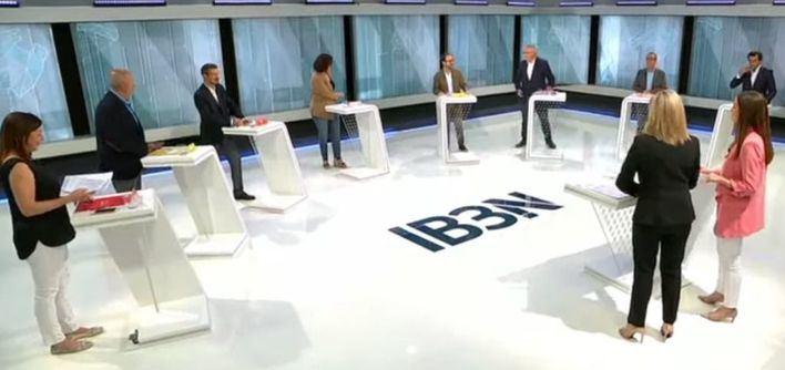 IB3 marca un 3,3 por ciento de audiencia con el debate de candidatos al Govern