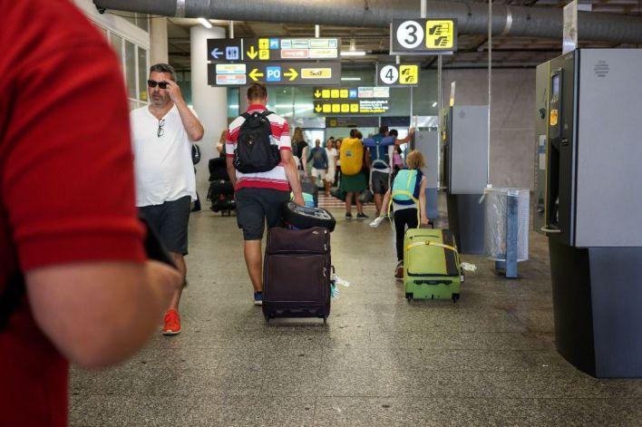 El tráfico aéreo sube un 7,1 por cien en Son Sant Joan