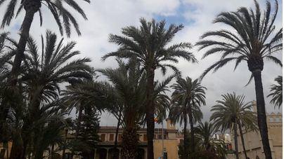 Este sábado podrían producirse chubascos ocasionales en Baleares