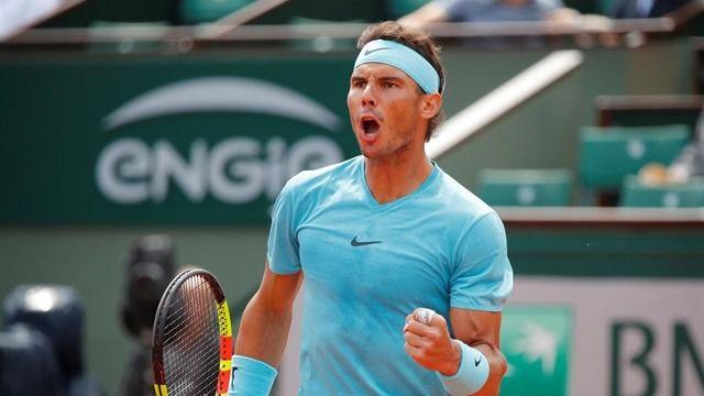 Nadal pasa a semifinales en Roma y buscará la revancha ante Tsitsipas