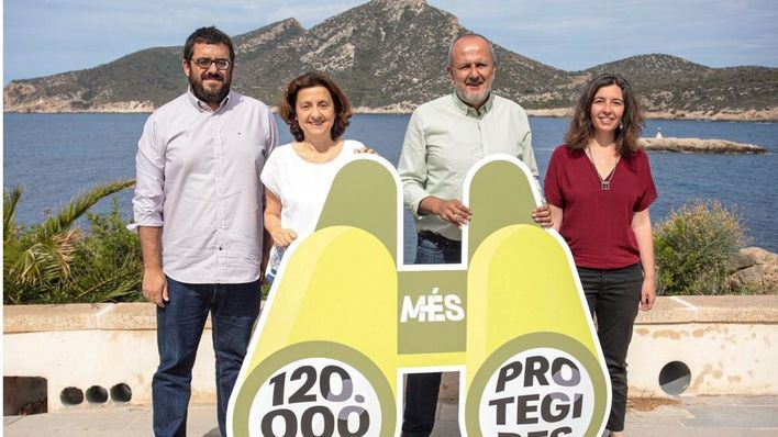 Més quiere ampliar la superficie de parque natural de Baleares en 10.000 hectáreas