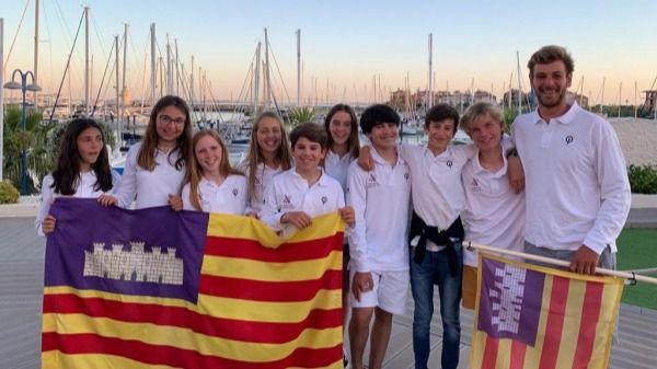 María Perelló se proclama campeona de la Copa de España de Optimist