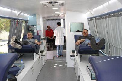 Los trabajadores y colaboradores de Endesa participan en la campaña de donación de sangre