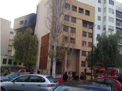 Detienen a varias personas por el incendio de los juzgados de Ibiza de enero