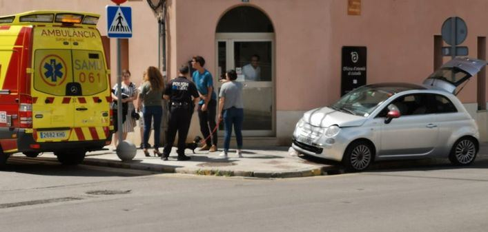 Un conductor se da a la fuga tras provocar un accidente en Marratxí