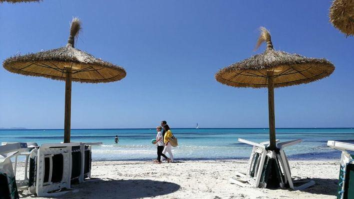 Jueves con temperaturas veraniegas en Baleares