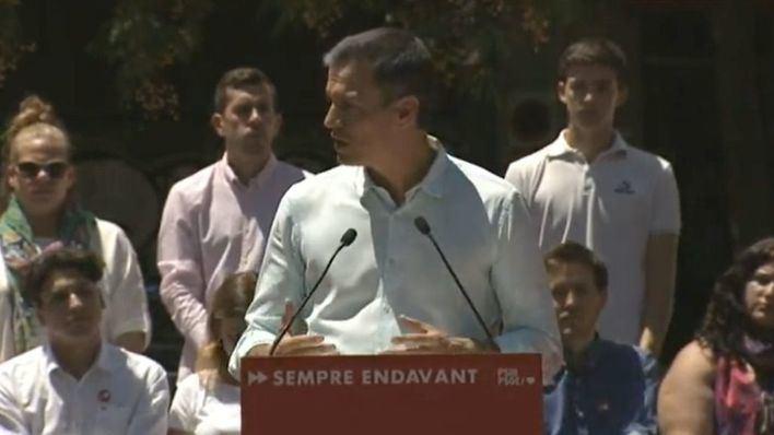 Pedro Sánchez y Santiago Abascal coinciden hoy en los actos centrales de sus partidos en Palma