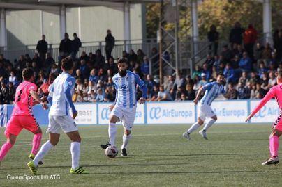 Ayuntamiento y Racing calientan el partido contra el Atlético Baleares con una gran fiesta