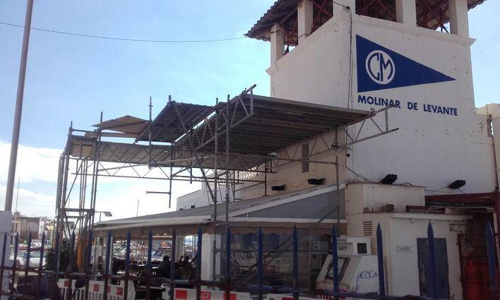Posible multa de 60.000 euros al Club del Molinar por no cerrar sus puertas