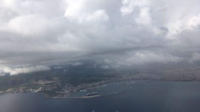 Lluvia y tormentas este fin de semana en Mallorca