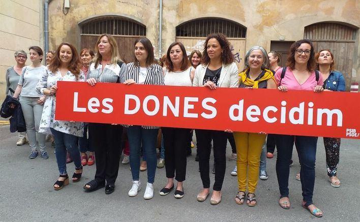 Armengol pide la movilización de las mujeres para