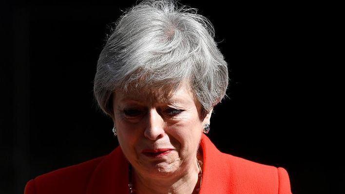 Theresa May anuncia que dimitirá el próximo 7 de junio