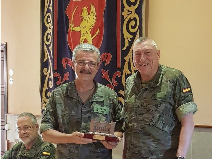 El teniente coronel Pou deja el Centro de Historia y Cultura Militar tras 10 años al frente