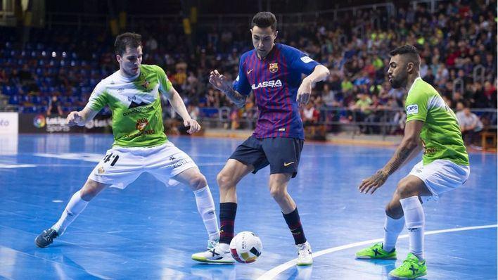 Solo los penaltis pueden con el Palma Futsal en el primer partido del playoff