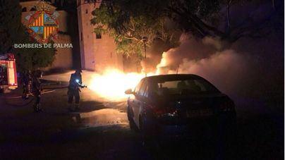 Arden varios contenedores en Palma en tres incendios provocados