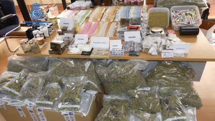 Cae un grupo que traficaba con drogas a través de dos asociaciones cannábicas