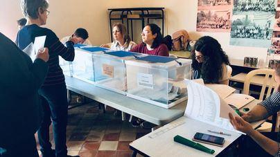 Jornada tranquila en los 385 colegios electorales de Baleares