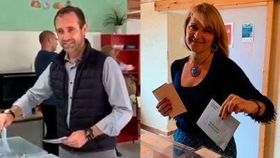 Los candidatos al Parlamento Europeo Estarás (PP) y Bauzá (Cs) piden la mayor participación en las urnas