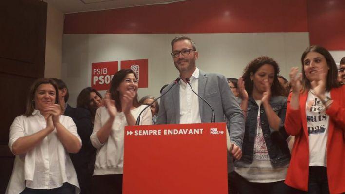 El PSIB gana en Palma e Hila descarta compartir la alcaldía aunque tenga que pactar