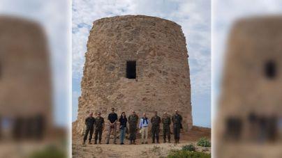 La Torre de Illetes vuelve a tener el aspecto de hace casi 500 años