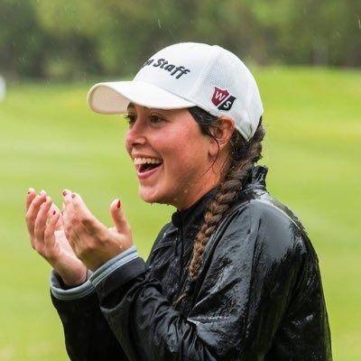 """La golfista Nuria Iturrios dice que su objetivo es """"llegar al número uno"""""""