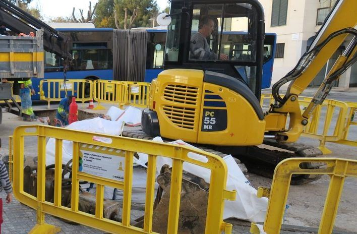 Siete de cada diez españoles sufre alteraciones por el ruido de las obras de la calle