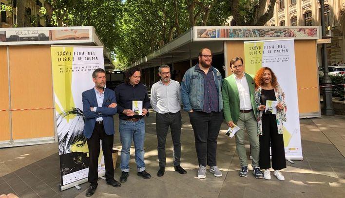 La Feria del Libro de Palma arranca el viernes con 35 casetas y 12 librerías