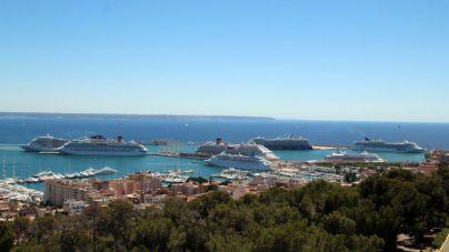 Palma: menos cruceros pero más cruceristas