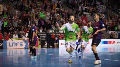 El Palma Futsal devuelve el golpe