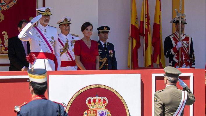 El Rey expresa su 'gratitud y emoción' a los familiares de los militares caídos en misiones de paz