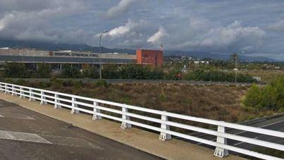 Un paciente del Hospital de Inca muere tras saltar desde un puente a la autopista
