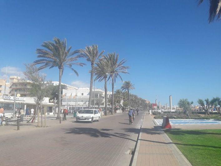 Arranca la semana superando los 30 grados en Mallorca