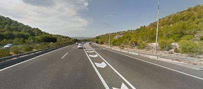La salida a la autopista de Bendinat permanecerá cerrada este lunes por la noche