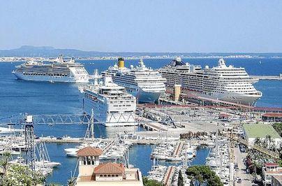 El director general de Puertos de Baleares pide al nuevo Govern 'soluciones' al tráfico de cruceros