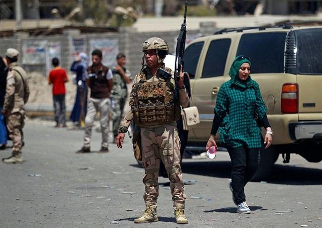 Mueren cuatro policías y otros cuatro resultan heridos en un tiroteo cerca de Bagdad