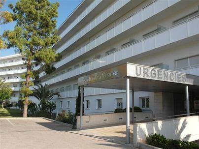 Herido en Palma un motorista tras chocar con un coche en la carretera de Valldemossa