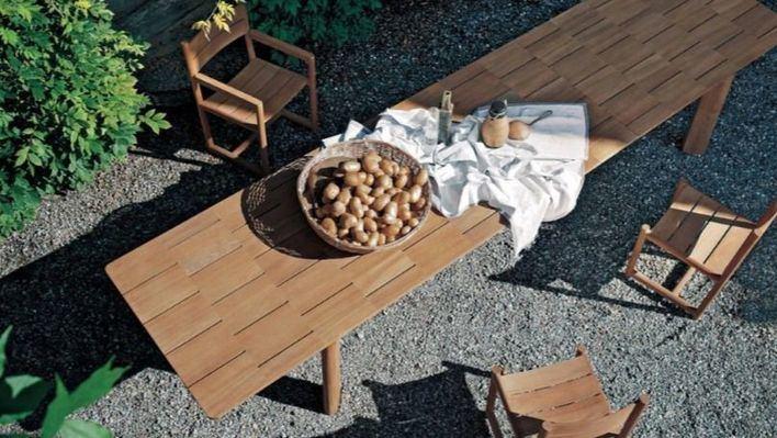 Muebles de exterior que dan la bienvenida al verano