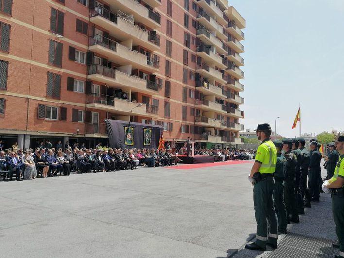 La Guardia Civil celebra en Palma su 175 aniversario: